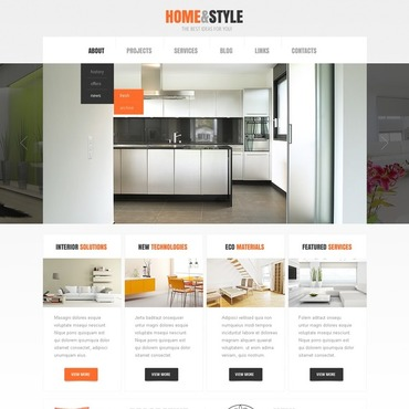 WordPress Style Real Estate Website Designs